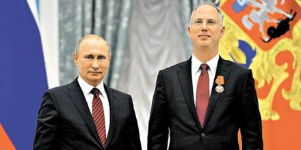 Владимир Путин и Кирилл Дмитриев