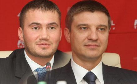 Руслан Цыплаков и Виктор Янукович-младший