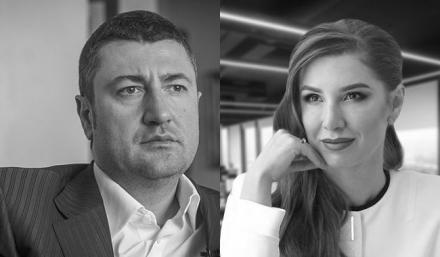 Олег Бахматюк и Алена Дегрик