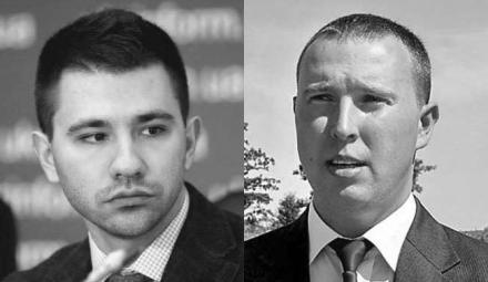 Павел Барбул и Владислав Бельбас