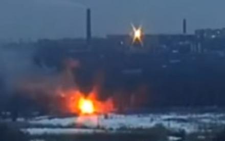 Украинский офицер одним выстрелом уничтожил БМП оккупантов (+фото и видео)