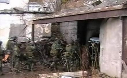 Взрыв боеприпасов в Донецке загнал полковой штаб оккупантов под землю