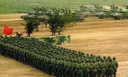 учения армии КНР