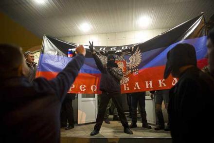 В Италии донецких приспешников Путина назвали «фашистскими националистами»