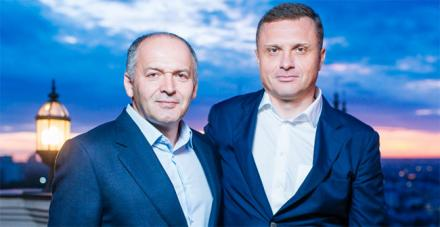 Виктор Пинчук и Сергей Лёвочкин