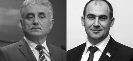 Виорел Штефан и Юрий Димчогло
