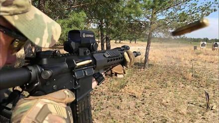 стрельба из винтовки UAR-15