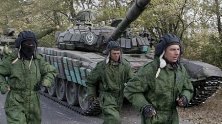 Террористические морпехи разукомплектовали свои танки: похищены топливо и боеприпасы