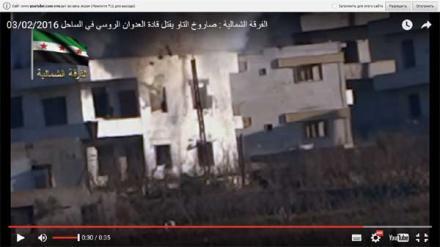 Сирийские повстанцы показали процесс ликвидации российских генералов (+видео)