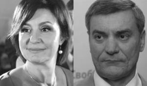Елена Липивская-Эргюль и Олег Уруский