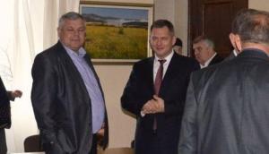 Геннадий Николаенко и Борис Козырь