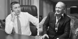 Виктор Полищук и Юрий Иванющенко