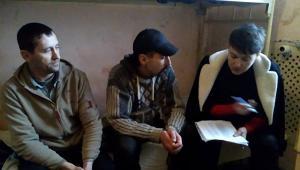 Надежда Савченко в Макеевке