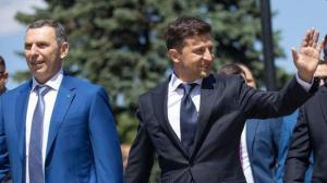 Сергей Шефир и Владимир Зеленский