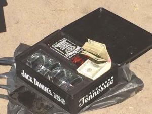 Прокурору вручили взятку в коробке с виски (+видео)