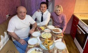 Владимир Зеленский и его родители